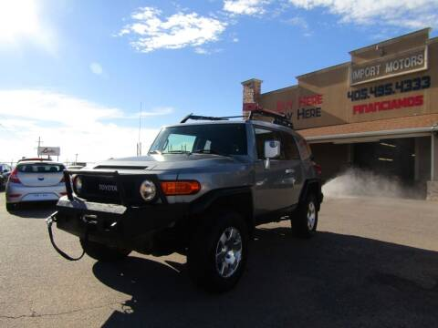 2010 Toyota FJ Cruiser for sale at Import Motors in Bethany OK