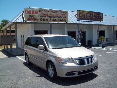 2012 Chrysler Town and Country for sale at LONGSTREET AUTO in Saint Augustine FL