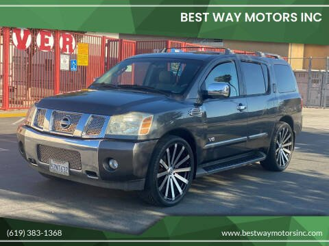 2007 Nissan Armada for sale at BEST WAY MOTORS INC in San Diego CA