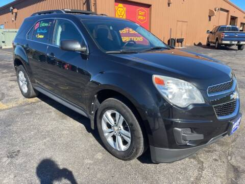 2012 Chevrolet Equinox for sale at Best Auto & tires inc in Milwaukee WI