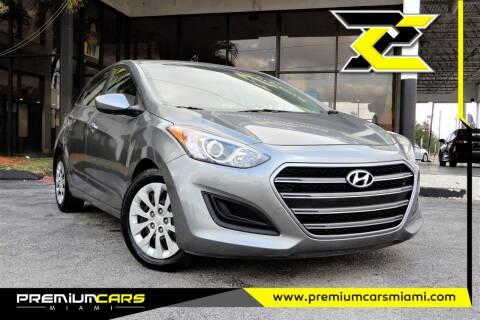 2017 Hyundai Elantra GT for sale at Premium Cars of Miami in Miami FL