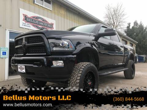2016 RAM Ram Pickup 3500 for sale at Bellus Motors LLC in Camas WA