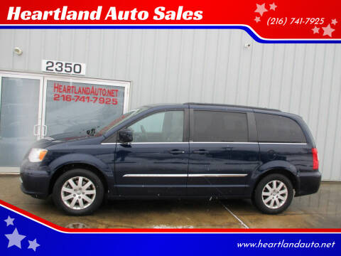 2014 Chrysler Town and Country for sale at Heartland Auto Sales in Medina OH