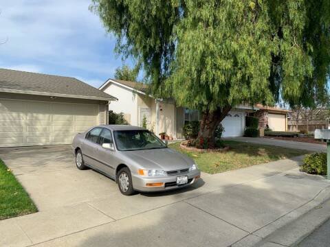 1997 Honda Accord for sale at Blue Eagle Motors in Fremont CA