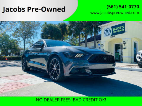 2016 Ford Mustang for sale at Jacobs Pre-Owned in Lake Worth FL