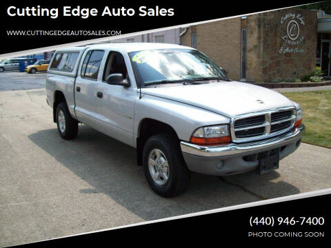 2002 Dodge Dakota for sale at Cutting Edge Auto Sales in Willoughby OH
