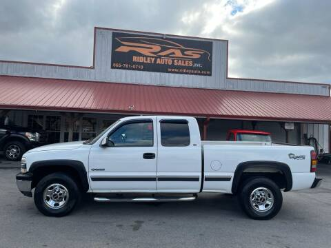 1999 Chevrolet Silverado 2500 for sale at Ridley Auto Sales, Inc. in White Pine TN