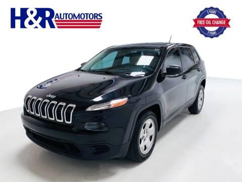 2016 Jeep Cherokee for sale at H&R Auto Motors in San Antonio TX