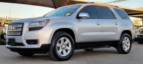 2013 GMC Acadia for sale at Elite Motors in El Paso TX