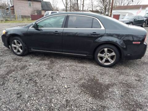 2009 Chevrolet Malibu for sale at Johnsons Car Sales in Richmond IN