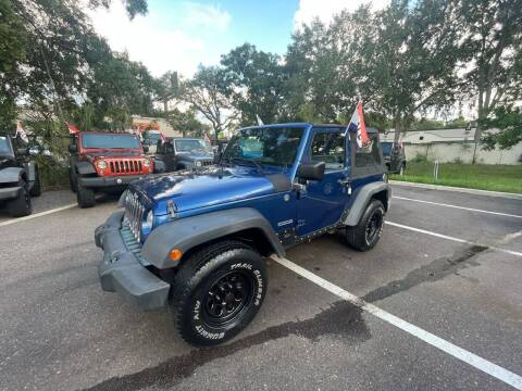 2010 Jeep Wrangler for sale at Bay City Autosales in Tampa FL