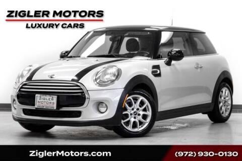 2014 MINI Hardtop for sale at Zigler Motors in Addison TX