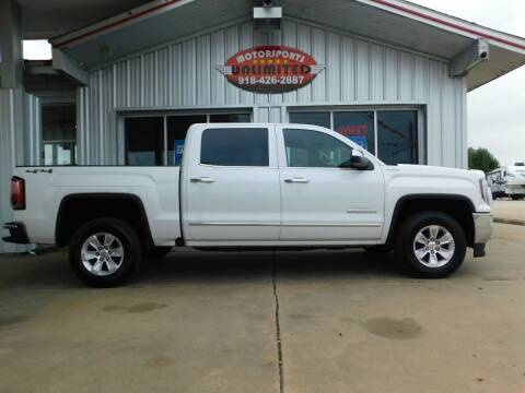 2016 GMC Sierra 1500 for sale at Motorsports Unlimited in McAlester OK