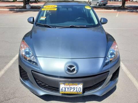 2012 Mazda MAZDA3 for sale at ALL CREDIT AUTO SALES in San Jose CA