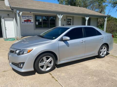2012 Toyota Camry for sale at Brewer's Auto Sales in Greenwood MO
