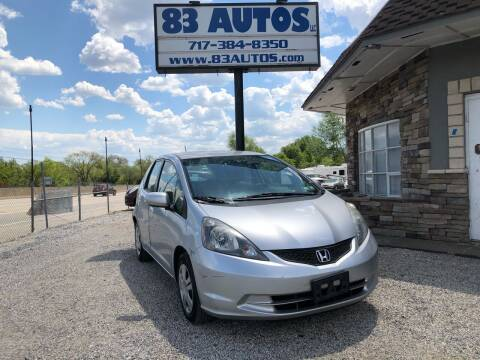 2013 Honda Fit for sale at 83 Autos in York PA