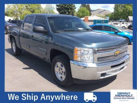 2012 Chevrolet Silverado 1500 for sale at Carmart 360 Missoula in Missoula MT