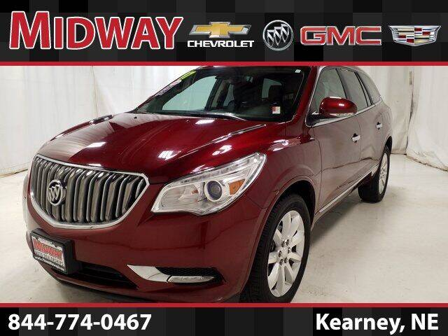 2017 Buick Enclave for sale at Midway Auto Outlet in Kearney NE