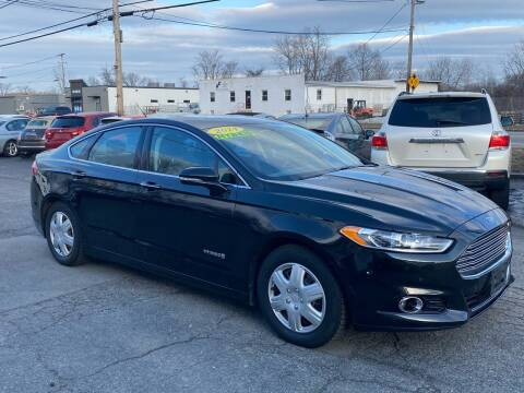2014 Ford Fusion Hybrid for sale at MetroWest Auto Sales in Worcester MA