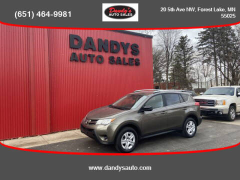 2015 Toyota RAV4 for sale at Dandy's Auto Sales in Forest Lake MN