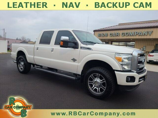2015 Ford F-350 Super Duty for sale at R & B Car Company in South Bend IN