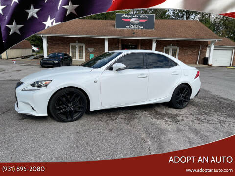 2014 Lexus IS 350 for sale at Adopt an Auto in Clarksville TN