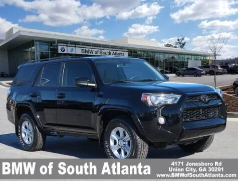 2018 Toyota 4Runner for sale at Carol Benner @ BMW of South Atlanta in Union City GA