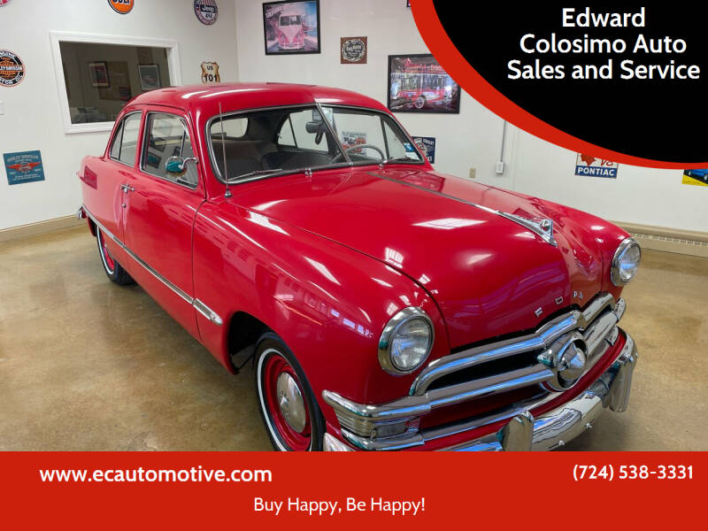 1950 Ford Custom for sale at Edward Colosimo Auto Sales and Service in Evans City PA
