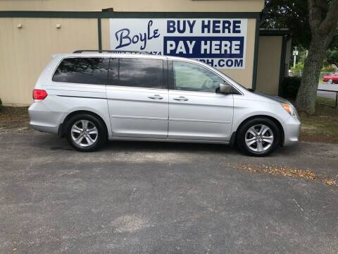 2010 Honda Odyssey for sale at Boyle Buy Here Pay Here in Sumter SC