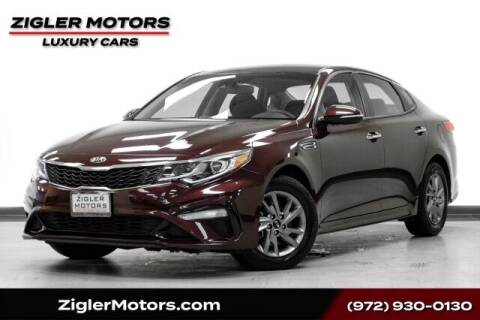 2019 Kia Optima for sale at Zigler Motors in Addison TX