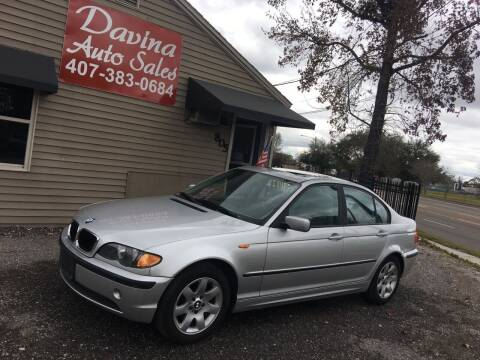 2002 BMW 3 Series for sale at DAVINA AUTO SALES in Casselberry FL