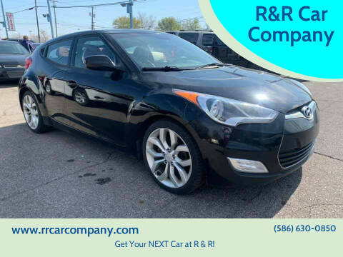 2012 Hyundai Veloster for sale at R&R Car Company in Mount Clemens MI