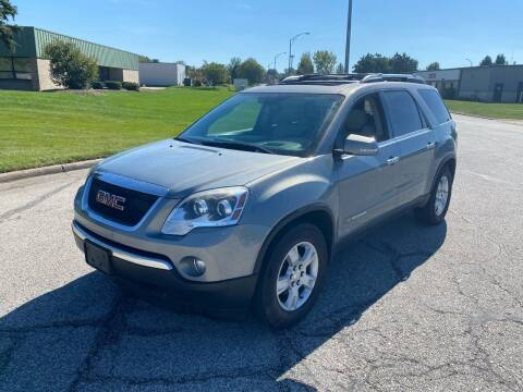 2007 GMC Acadia for sale at JE Autoworks LLC in Willoughby OH