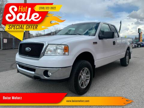 2007 Ford F-150 for sale at Boise Motorz in Boise ID