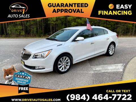 2015 Buick LaCrosse for sale at Drive 1 Auto Sales in Wake Forest NC