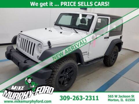 2017 Jeep Wrangler for sale at Mike Murphy Ford in Morton IL
