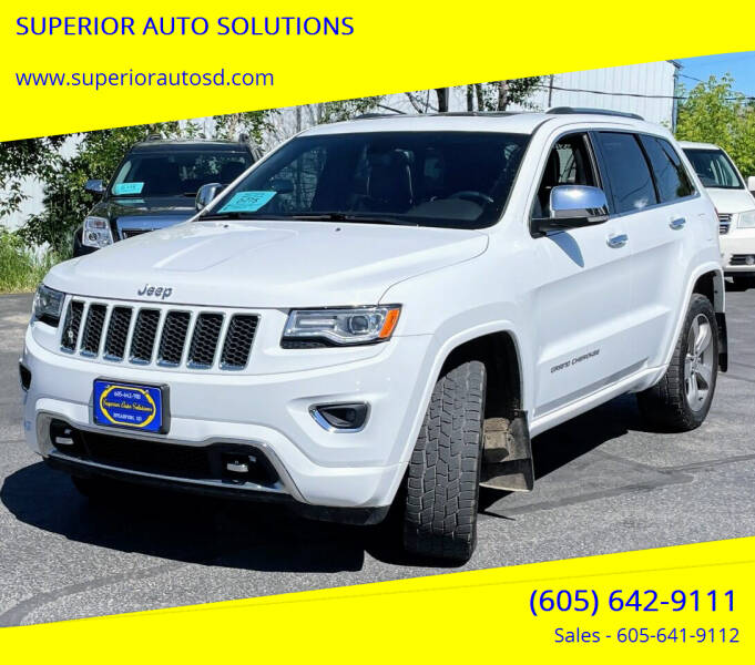 2015 Jeep Grand Cherokee for sale at SUPERIOR AUTO SOLUTIONS in Spearfish SD