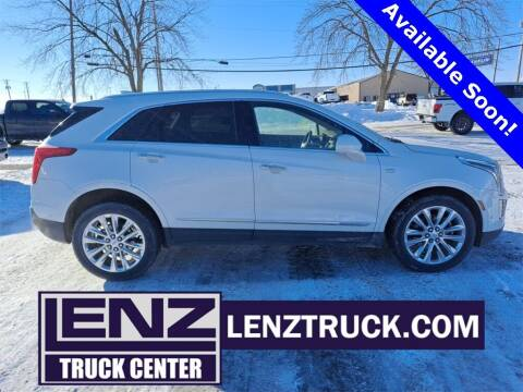 2019 Cadillac XT5 for sale at LENZ TRUCK CENTER in Fond Du Lac WI