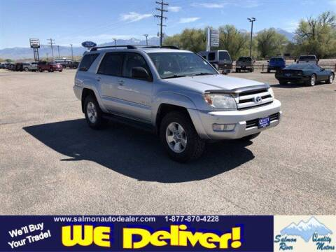 2004 Toyota 4Runner for sale at QUALITY MOTORS in Salmon ID