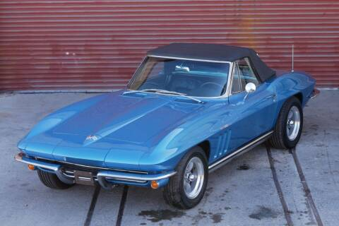 1965 Chevrolet Corvette for sale at Sierra Classics & Imports in Reno NV