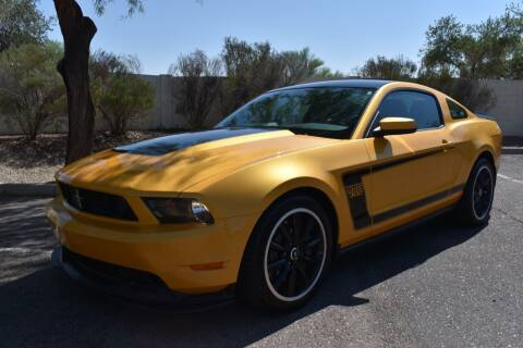 2012 Ford Mustang for sale at AMERICAN LEASING & SALES in Tempe AZ