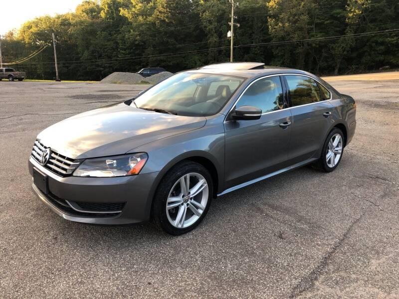 2014 Volkswagen Passat for sale at THATCHER AUTO SALES in Export PA
