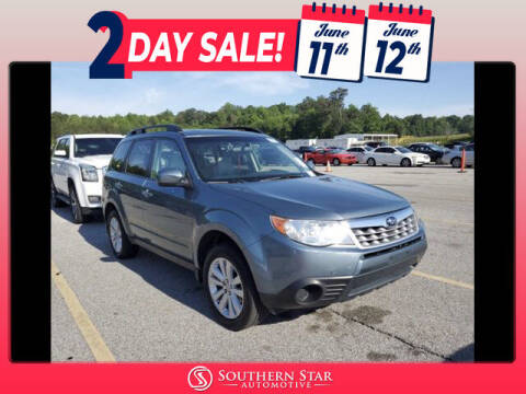 2013 Subaru Forester for sale at Southern Star Automotive, Inc. in Duluth GA