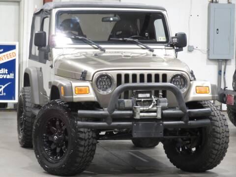 2006 Jeep Wrangler for sale at CarPlex in Manassas VA