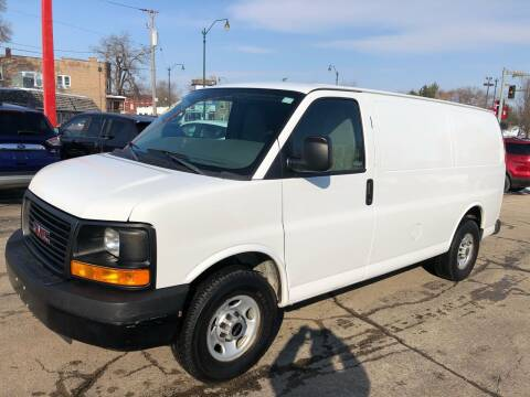 2013 GMC Savana Cargo for sale at Bibian Brothers Auto Sales & Service in Joliet IL