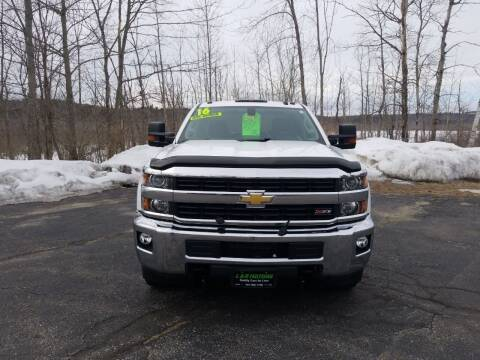 2016 Chevrolet Silverado 2500HD for sale at L & R Motors in Greene ME