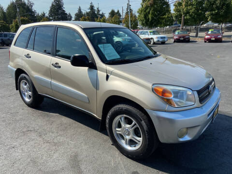 2005 Toyota RAV4 for sale at Pacific Point Auto Sales in Lakewood WA