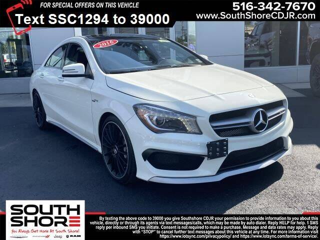 2016 Mercedes-Benz CLA for sale at South Shore Chrysler Dodge Jeep Ram in Inwood NY