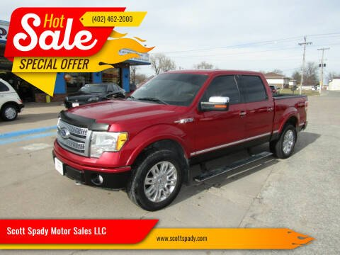 2010 Ford F-150 for sale at Scott Spady Motor Sales LLC in Hastings NE