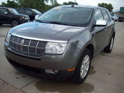 2010 Lincoln MKX for sale at Nemaha Valley Motors in Seneca KS